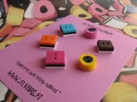 Allsorts 6-pack, buttons
