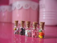 DollHouse Candy Jars 5-pack