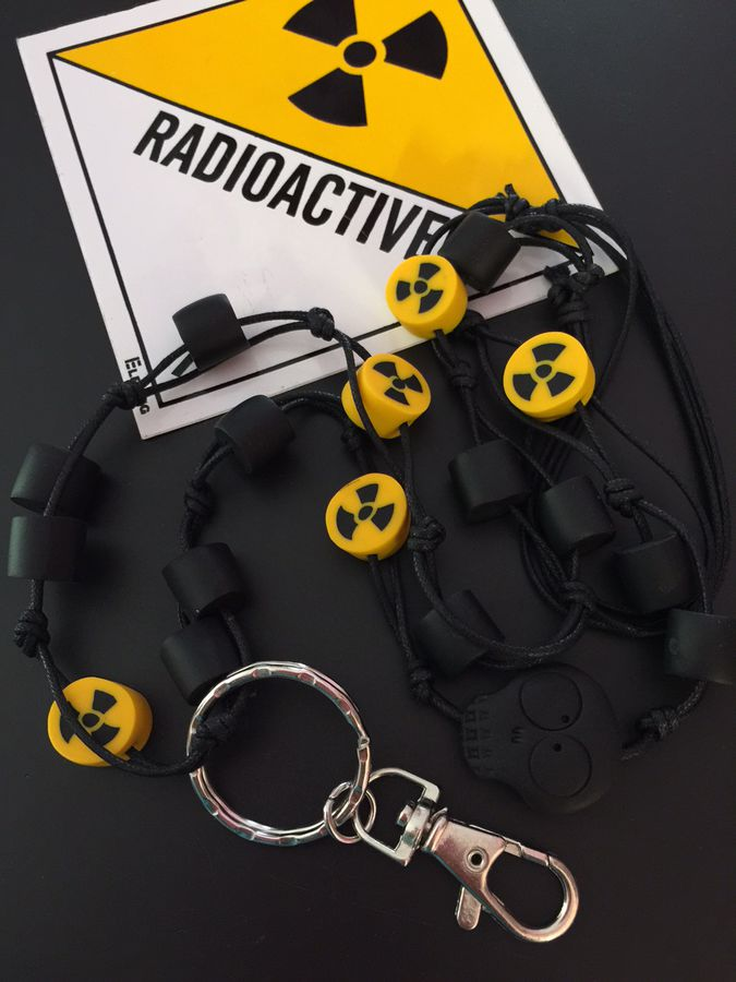 Radioactive!, cotton cord lanyard