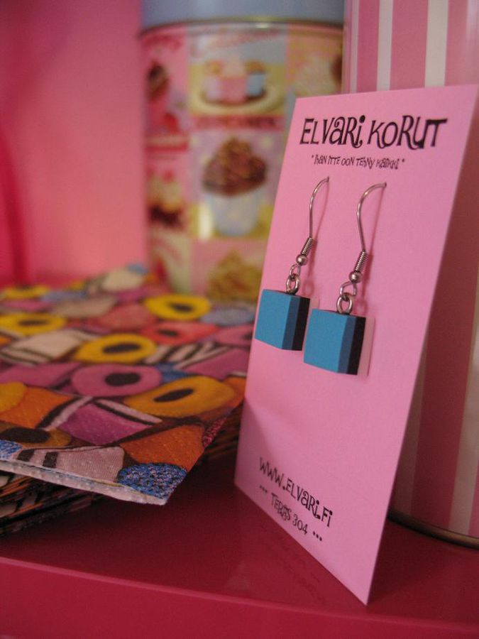 Allsorts Mini, drop earrings