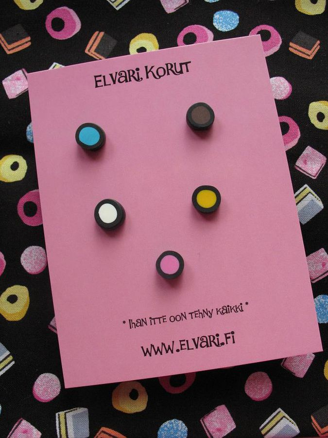 GoodyBag Filled Liquorice, studs