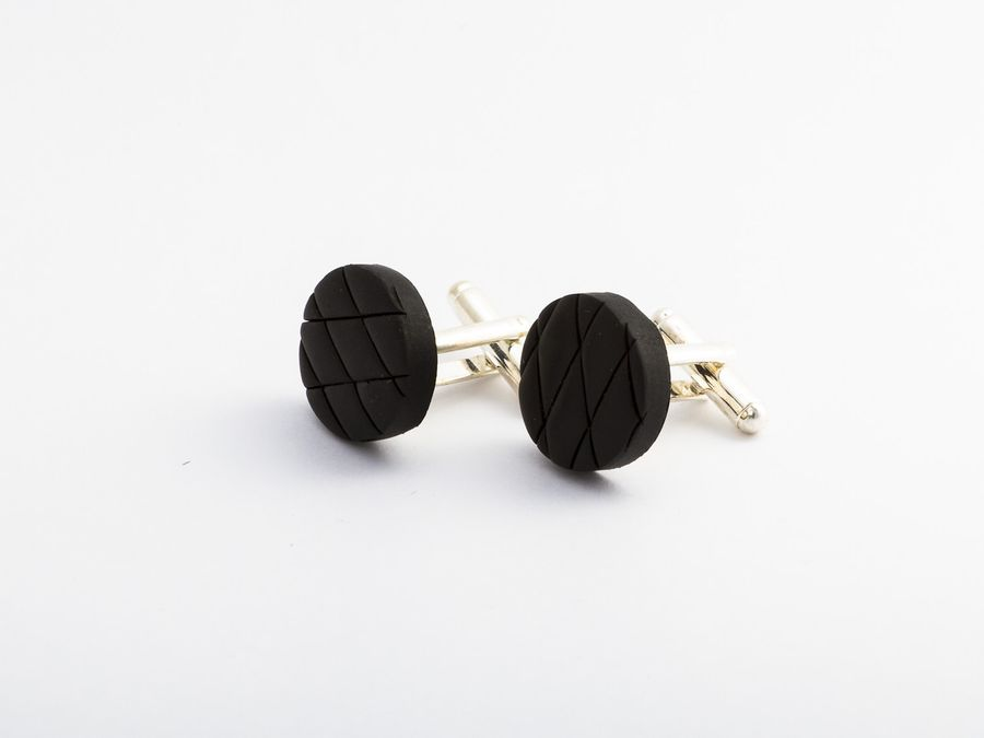 Salmiakki Super, cufflinks
